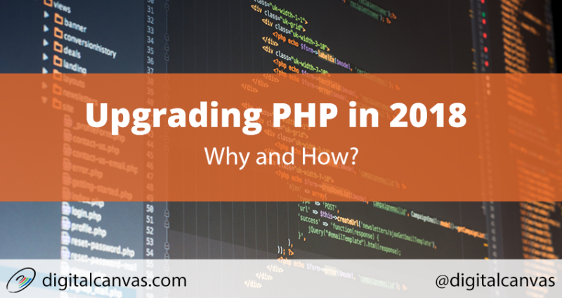 Upgrading PHP in 2018