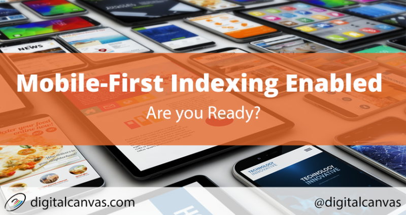Mobile-First Indexing Enabled: Are you Ready?
