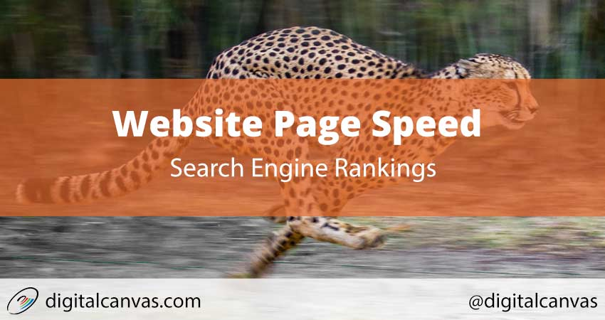 Website Page Speed affect Search Engine Results