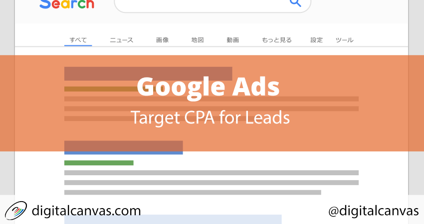 Determine Google Ads Target CPA for Leads